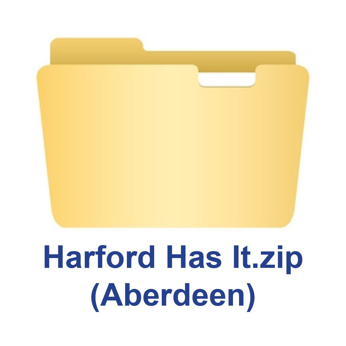 Zip Folder Icon_Aberdeen