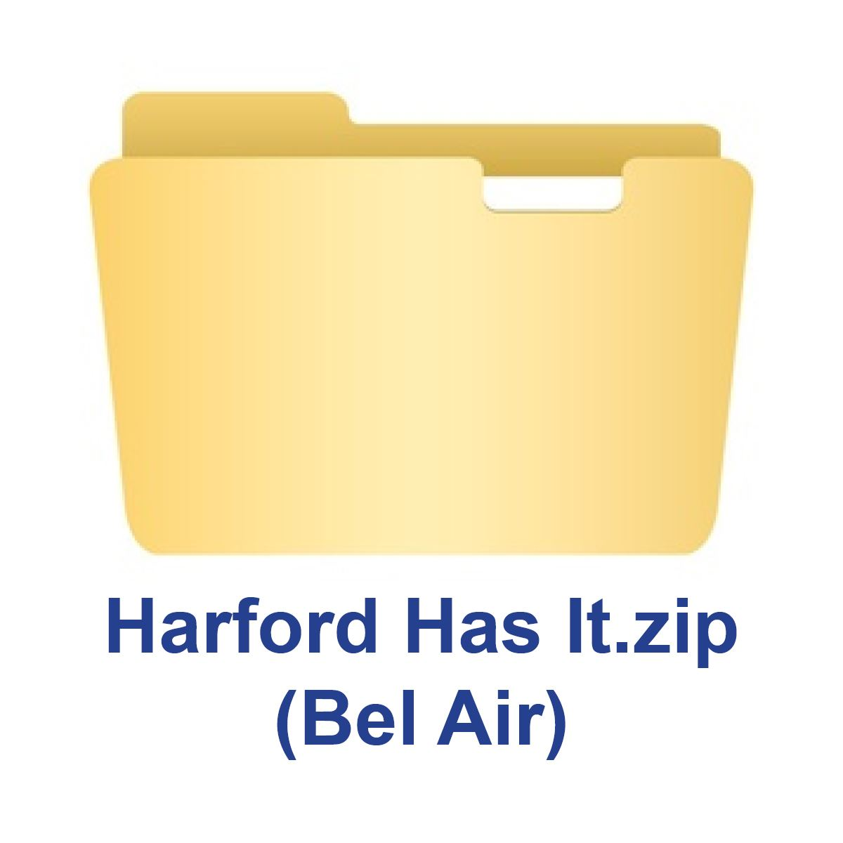 Zip Folder Icon_Bel Air