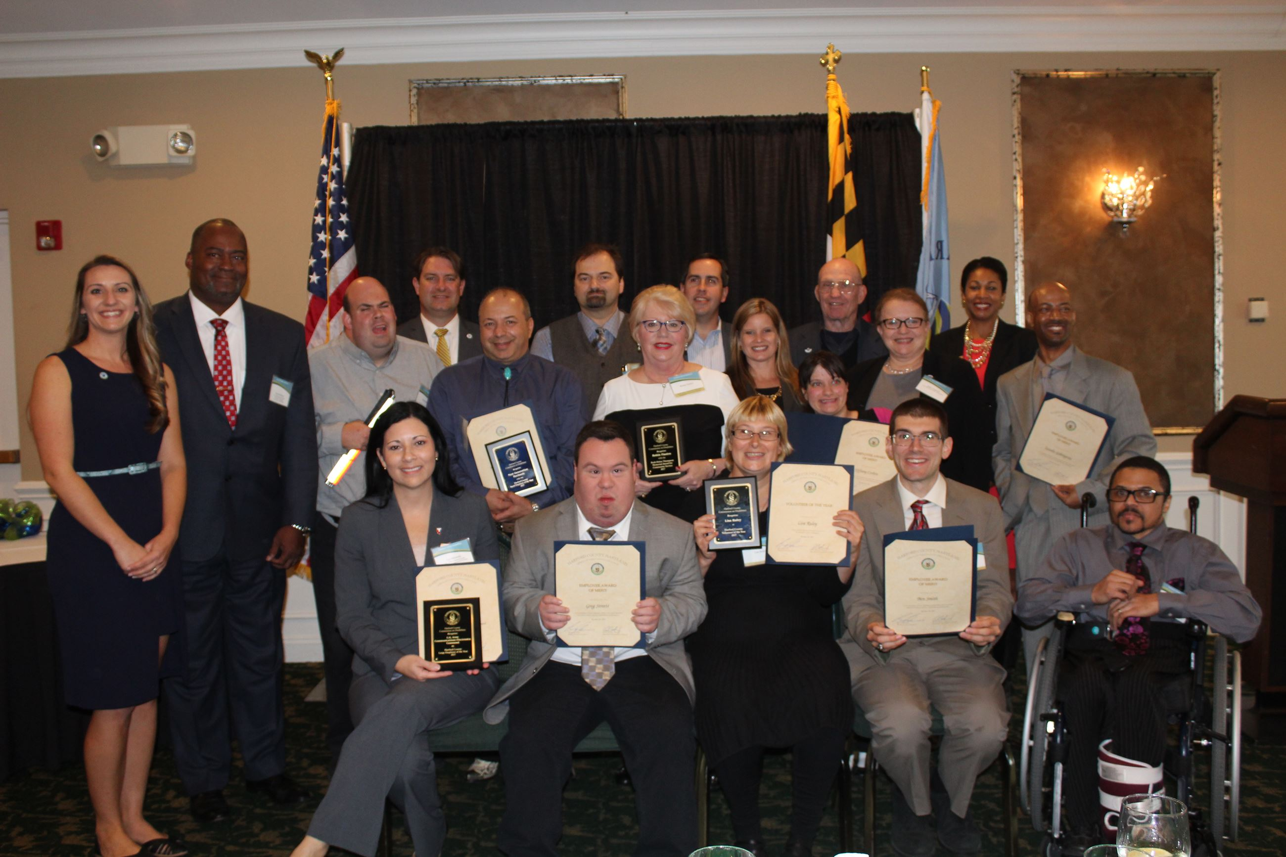 2017 Disabilities Luncheon Award Recipients