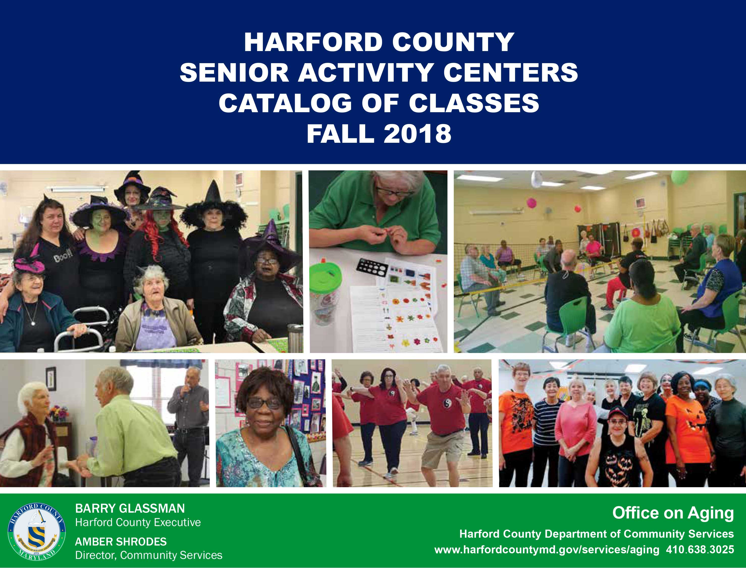 Senior Activity Center Catalog Fall 2018 front page button