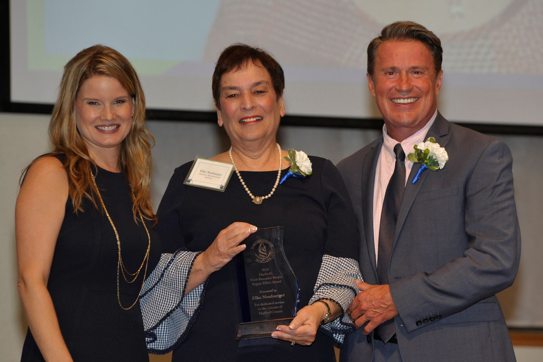 Harford's Most Beautiful Ripple Effect Award Recipient Elke Neuburger