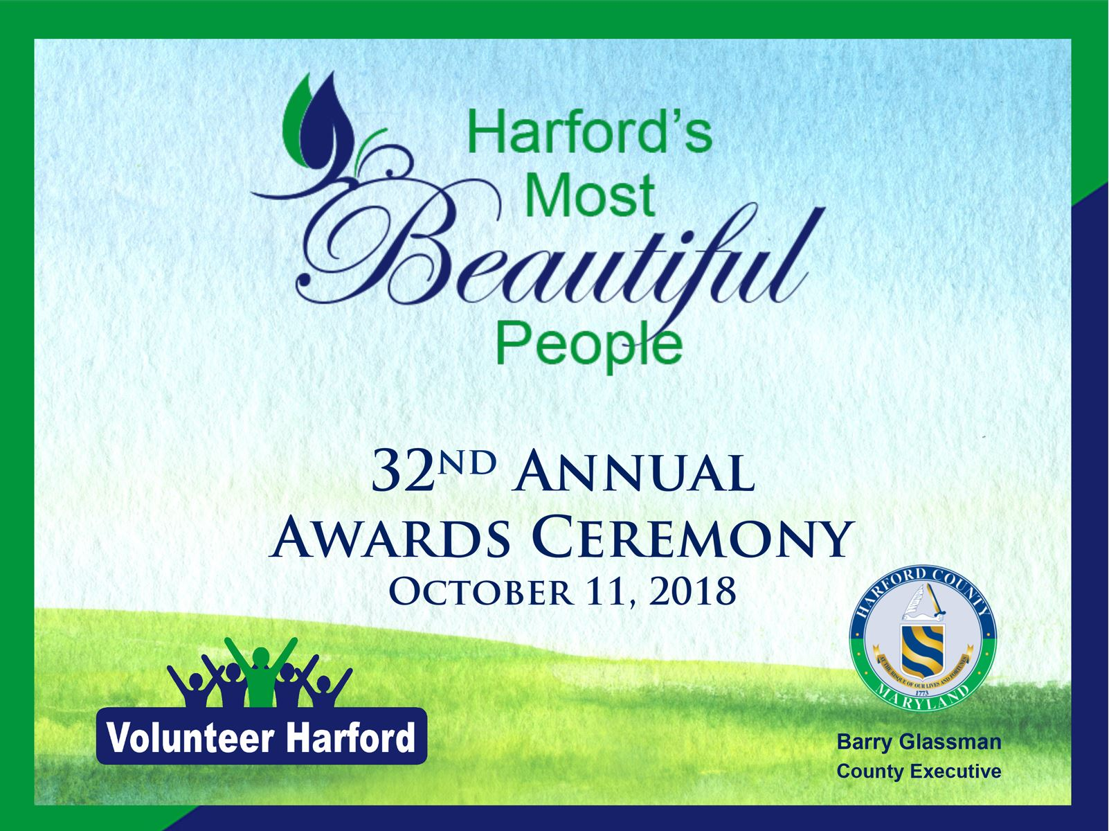 Harford's Most Beautiful ceremony October 11, 2018