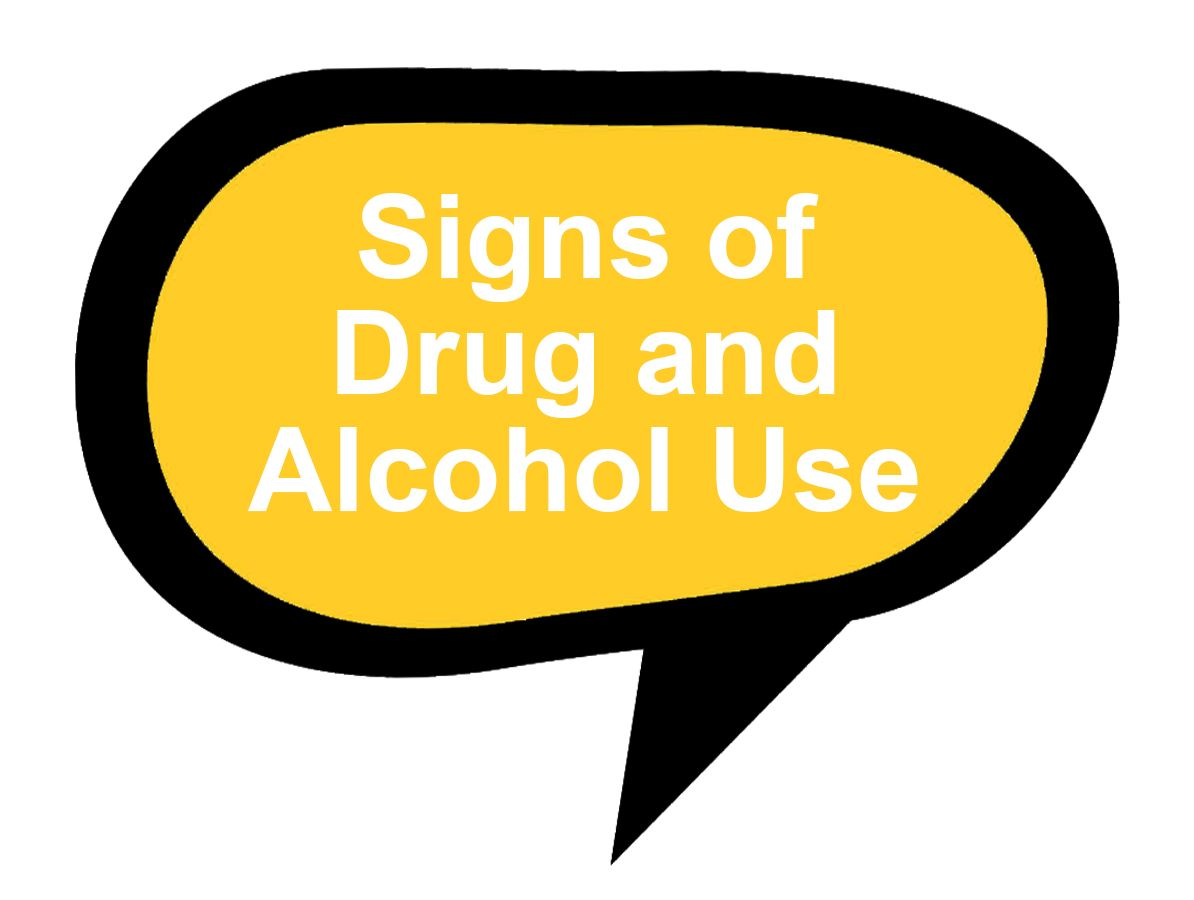 Signs of Drug and Alcohol Use and Addiction