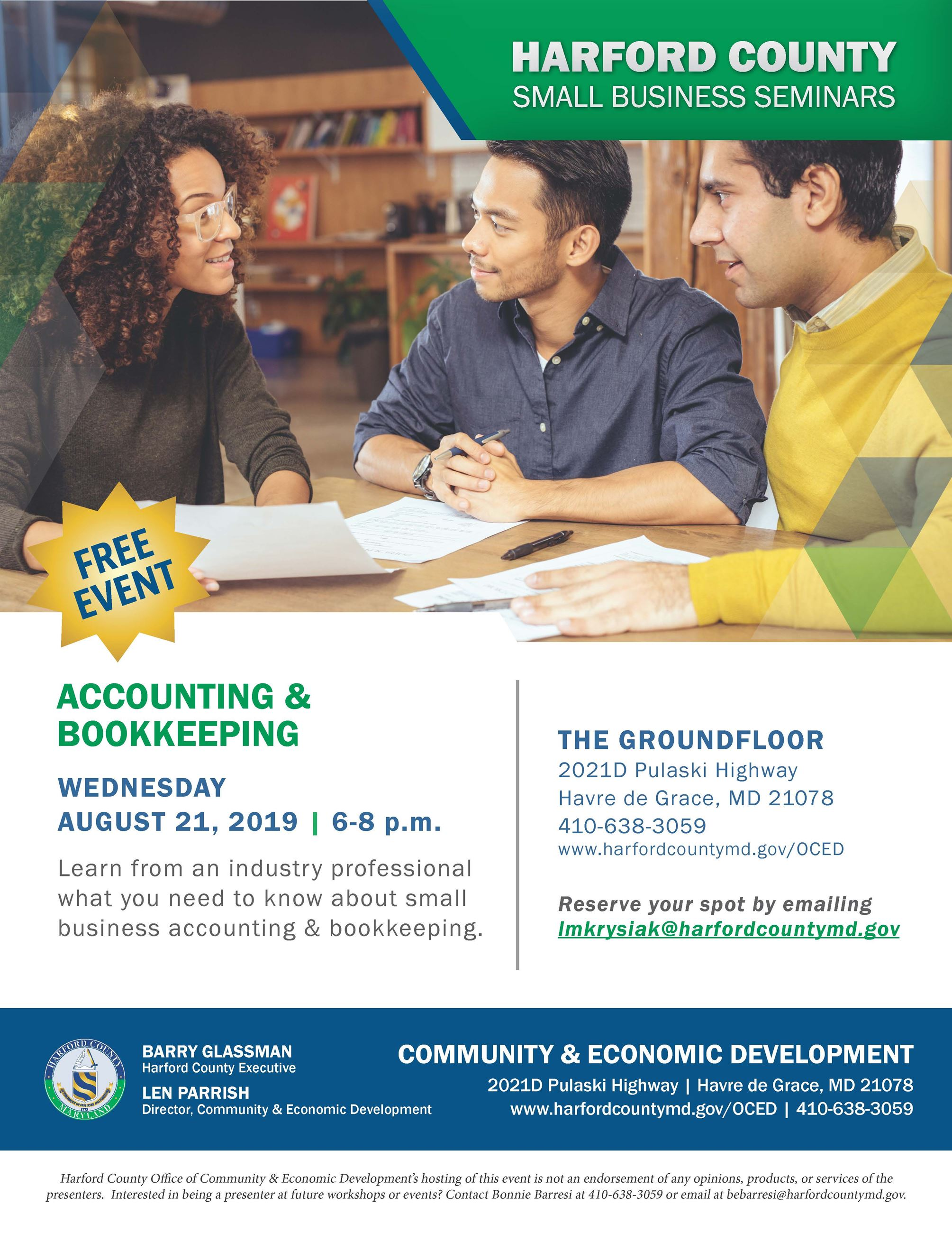 2019_08_August SBFS_Accounting and Bookkeeping