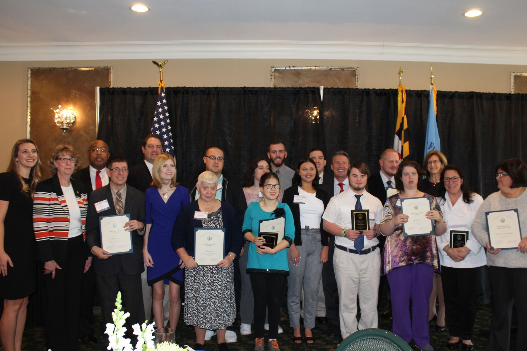 Group picture 2018 Disabilities Employment Awards