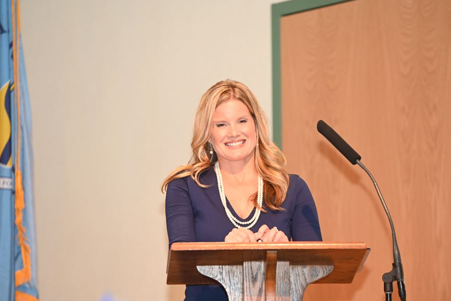 Amber Shrodes, director of Community Services