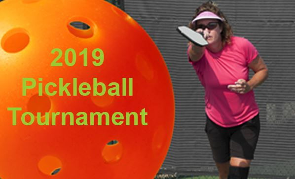 Pickleball Tournament Registration Button