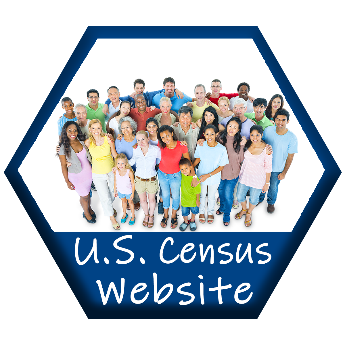 Census Page Buttons Website