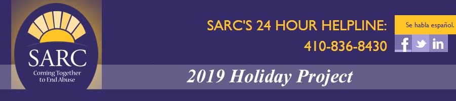 SARC Holiday Project Banner