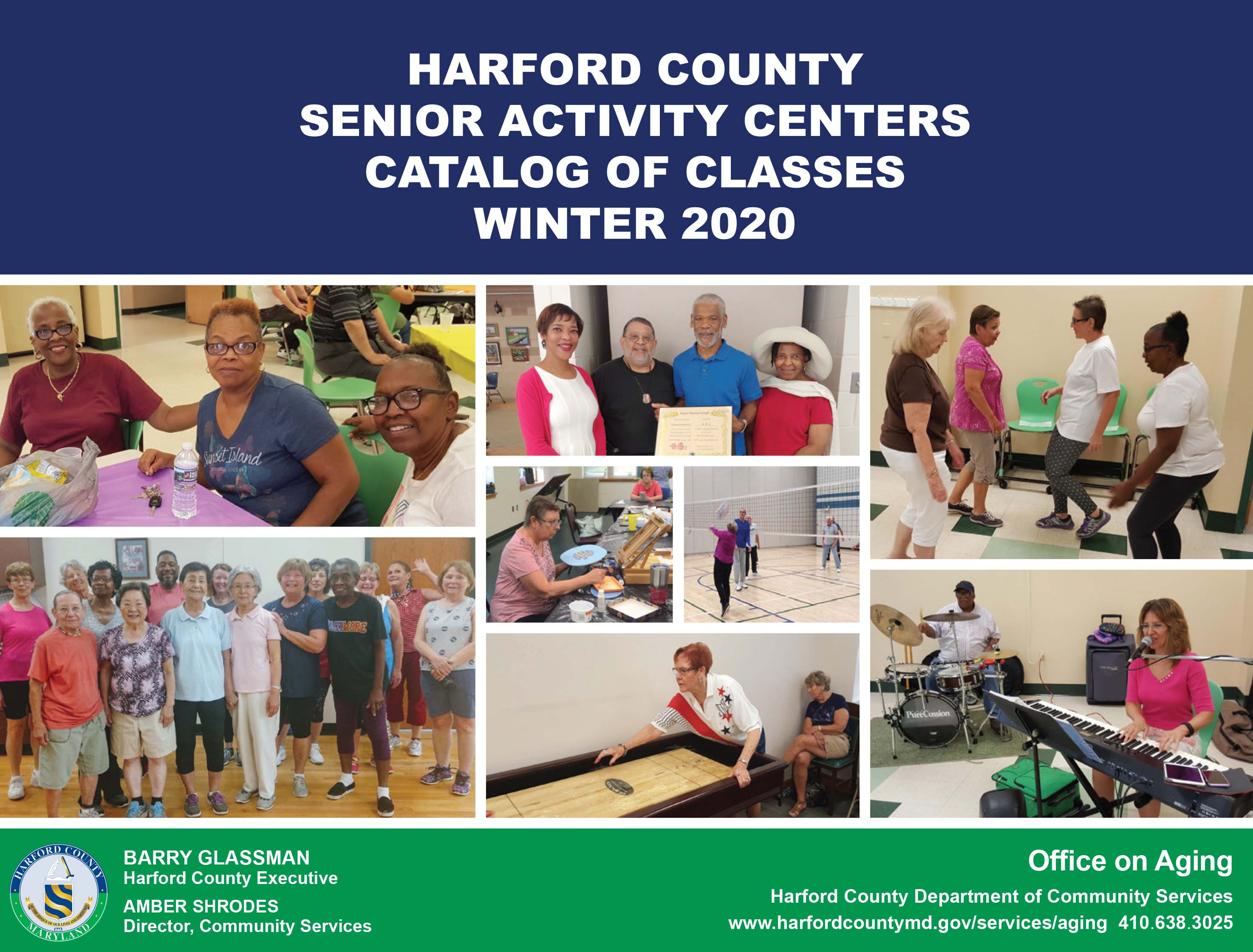 Senior Activity Center Catalog Winter 2020 button