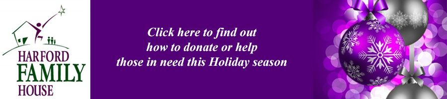 Harford Family House Holiday Volunteer and Giving Opportunities Button