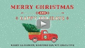 holiday greetings from County Executive Barry Glassman video Thumbnail with play button
