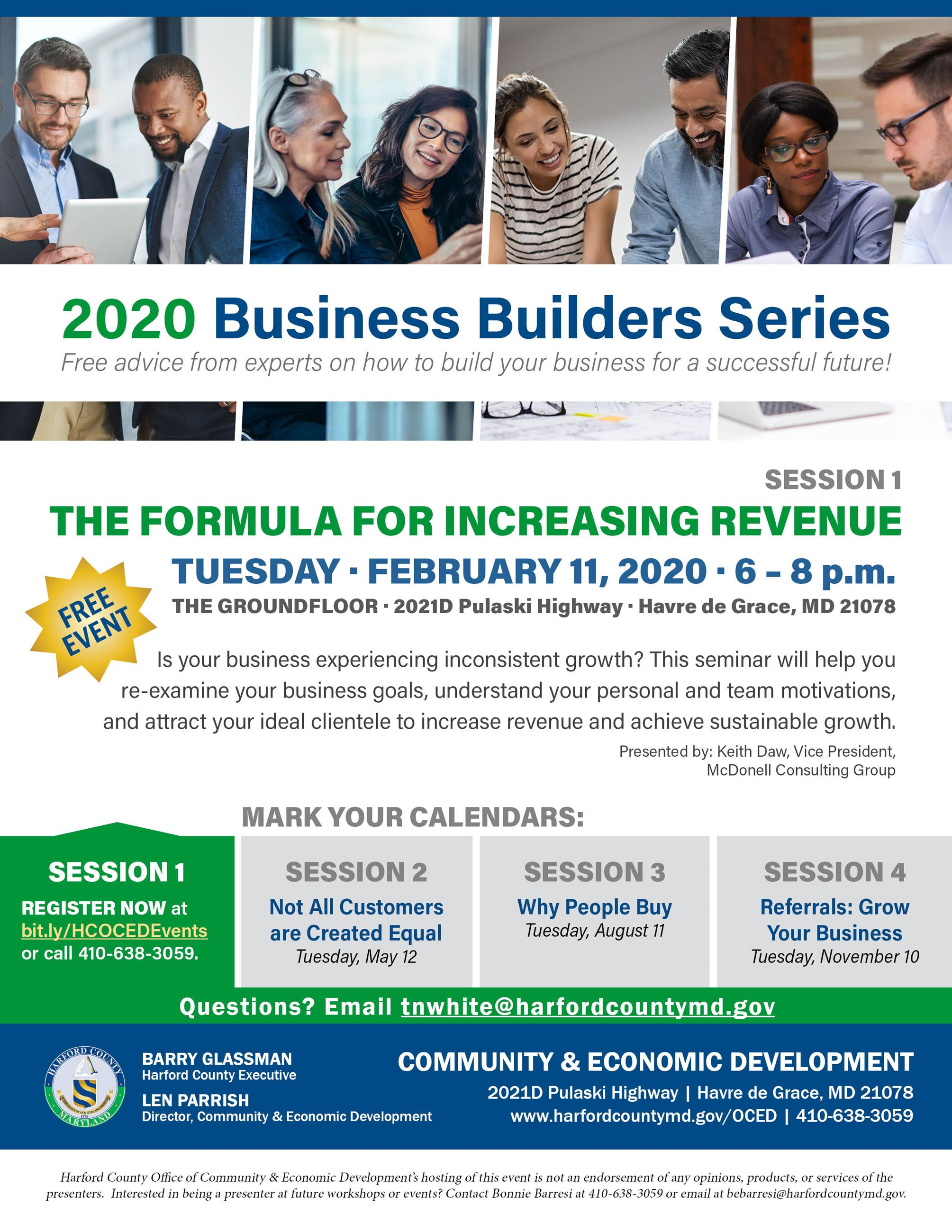 2020_02_FEB Biz Builders_Increasing Revenue