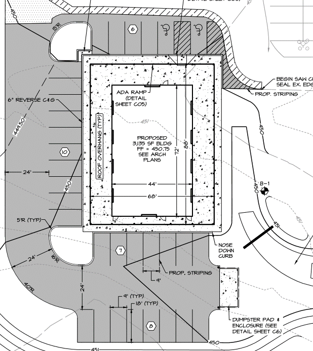 """The Grove"" blueprint plan layout"
