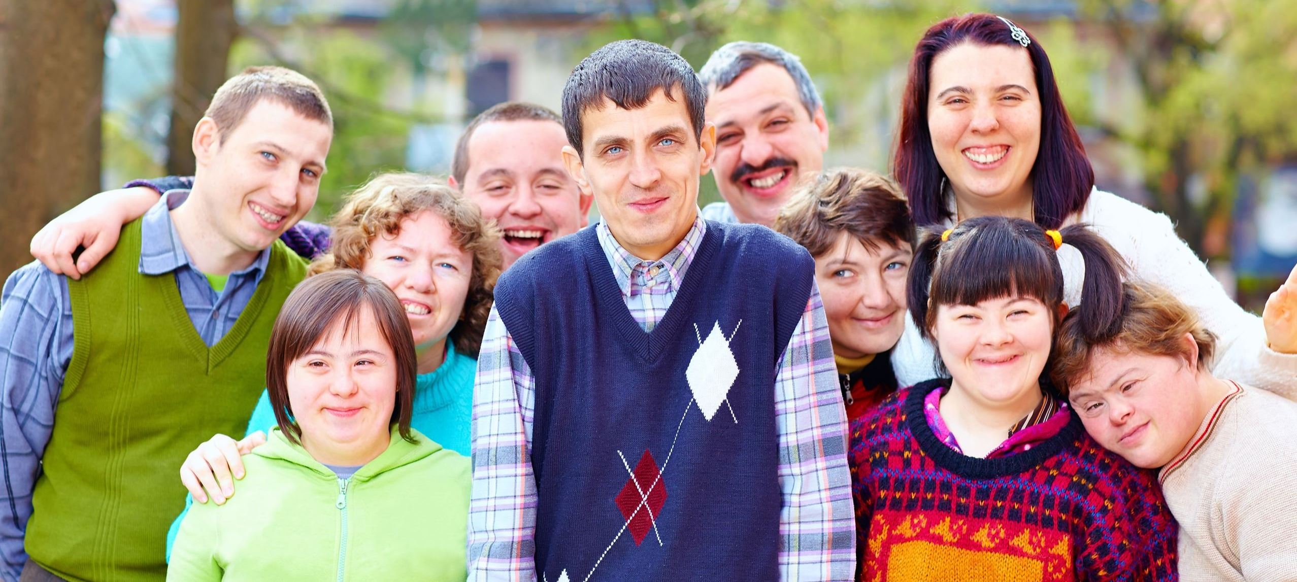 Group of individuals with disabilities