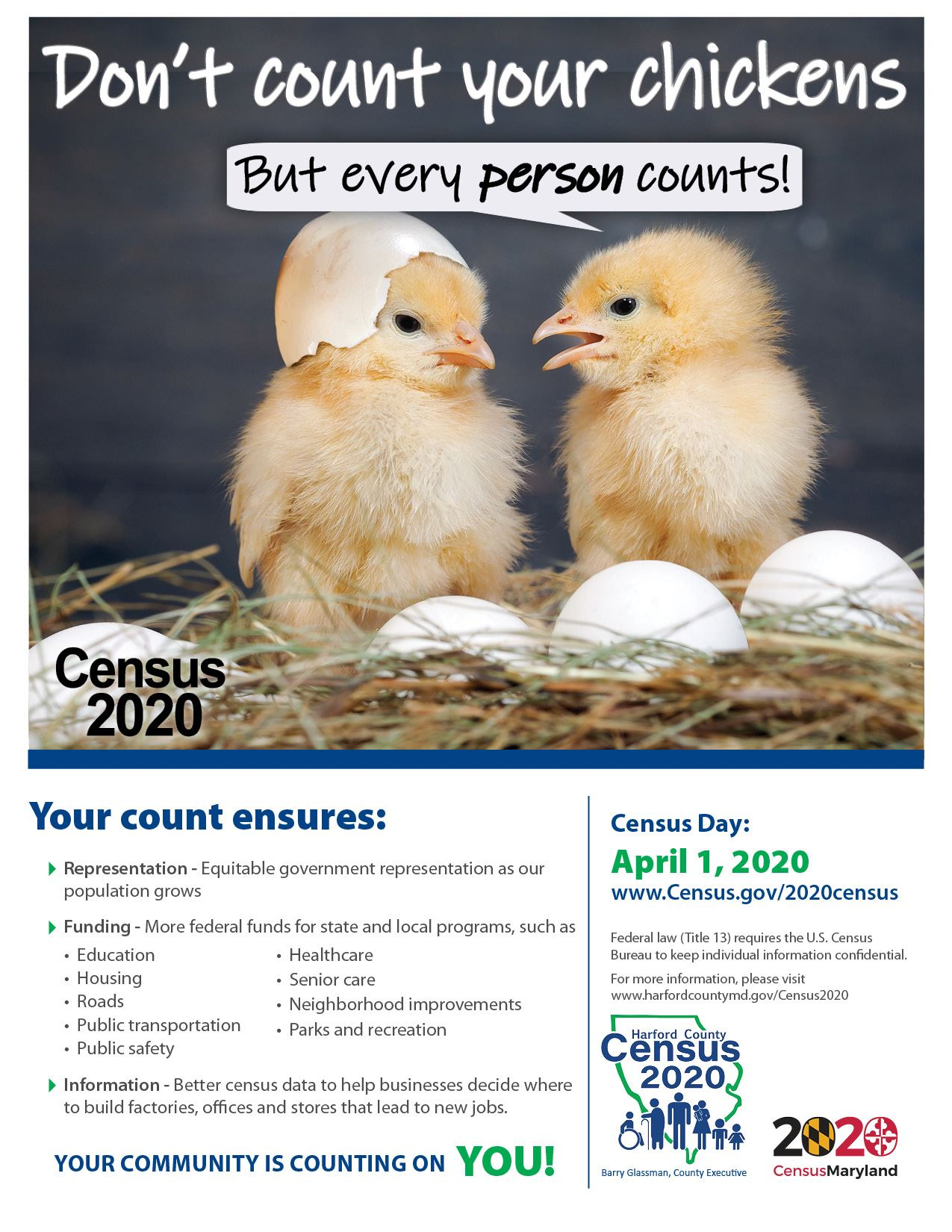 HCG 2020Census Flyer Agricultural community