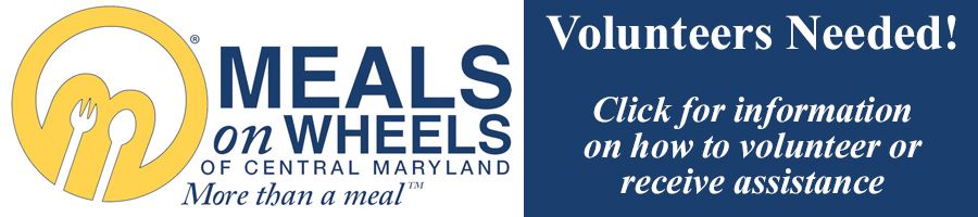 Meals on Wheels Volunteer Link button