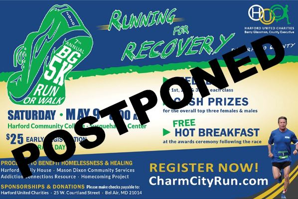 Postponed 2020 Run for Recovery Button