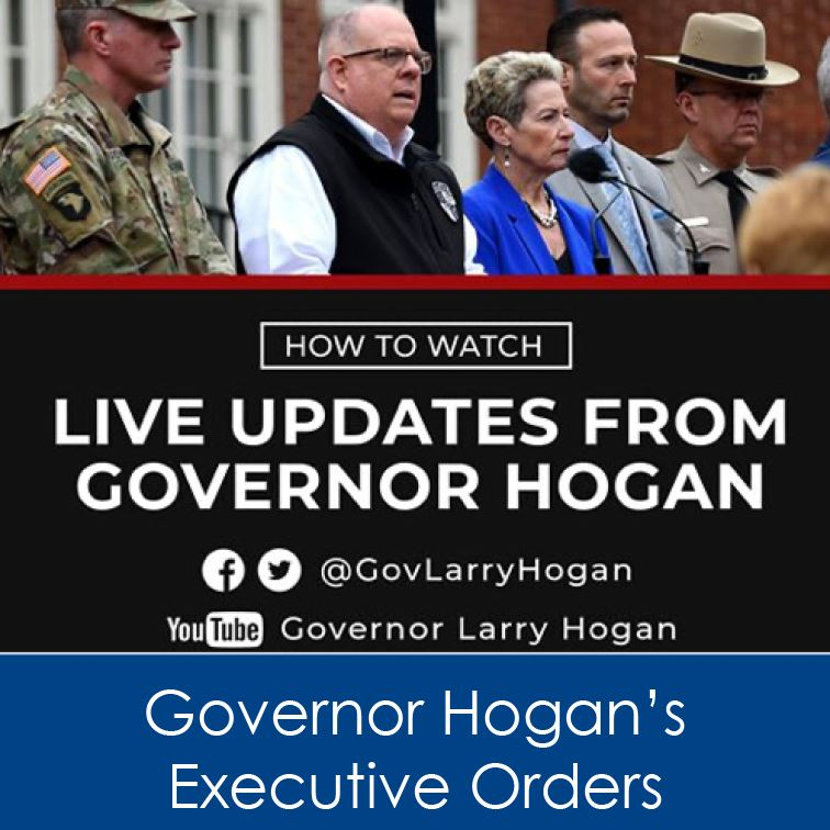 Hogan Executive Order updates COVID-19