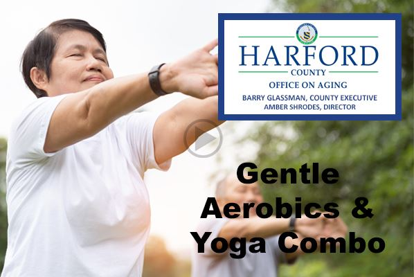 Gentle Aerobics and Yoga Combo Play Video Button