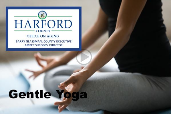 Gentle Yoga Play Video button