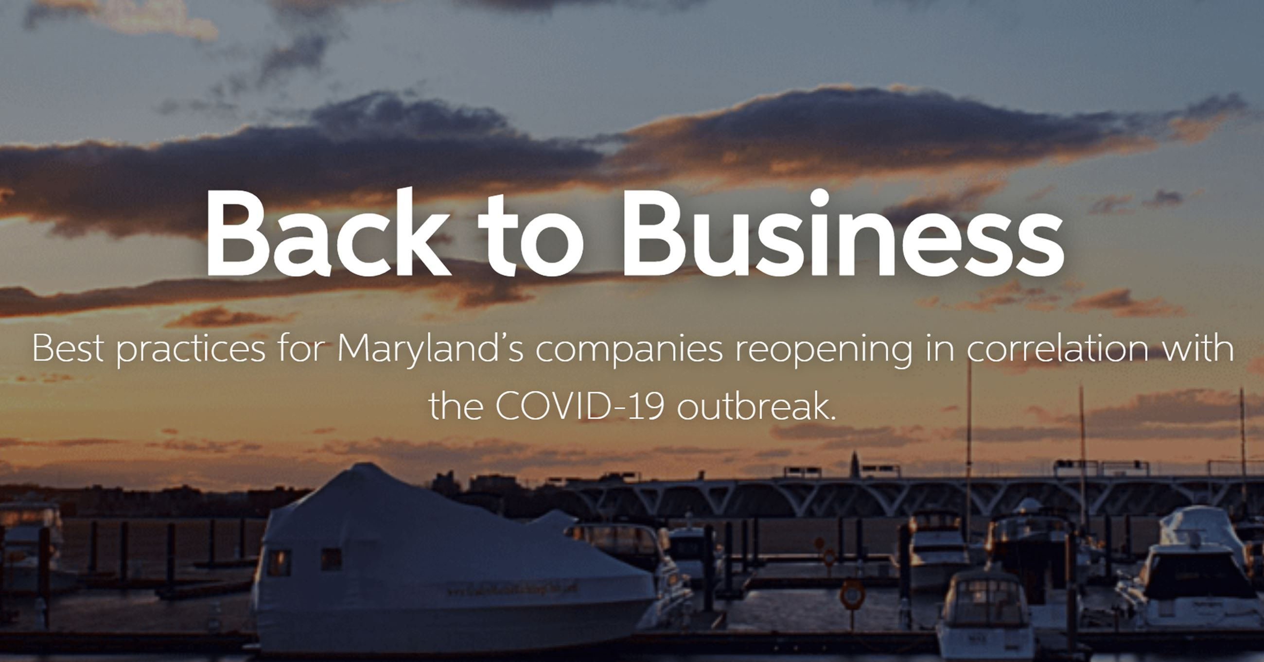 Back to Business reopening with COVID-19