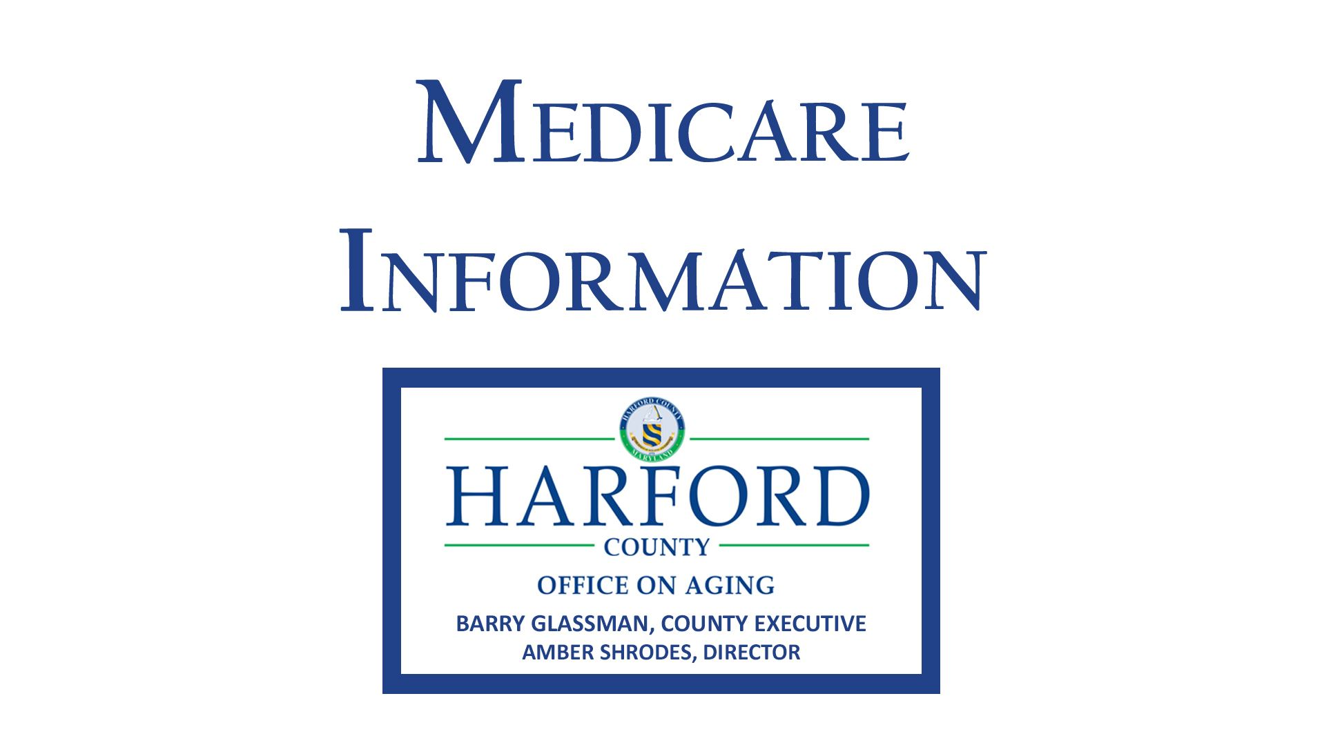 Medicare Information Click Here Button