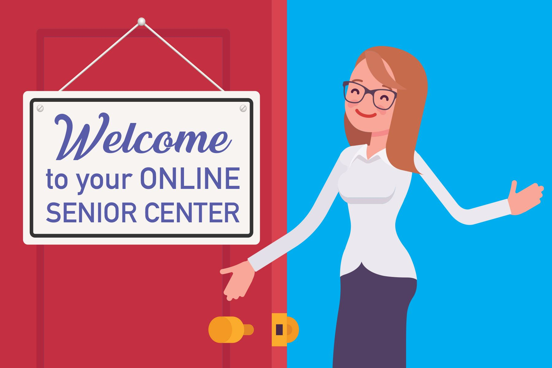 On-line Senior Center 6x4