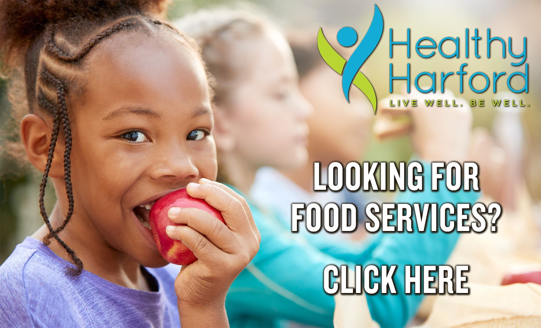 Healthy Harford Fod Services link button