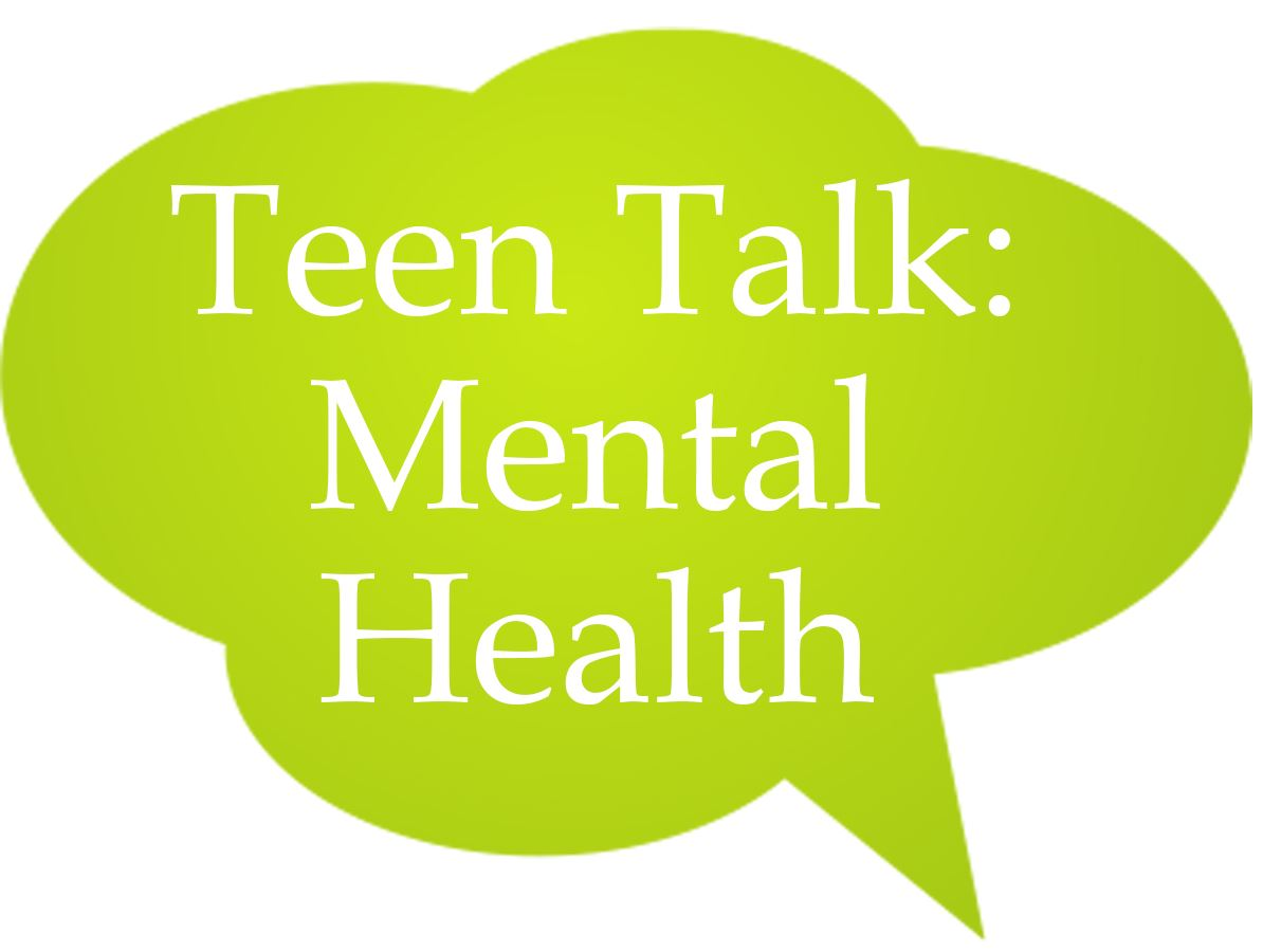 Teen Talk Mental Health Speech Bubble