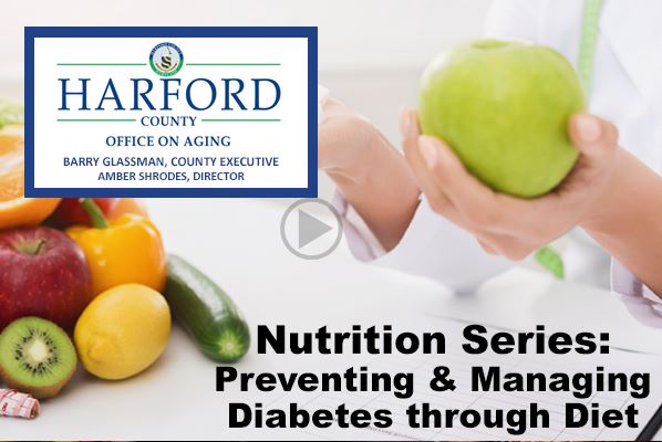 Nutrition Series - Preventing and Managing Diabetes through diet