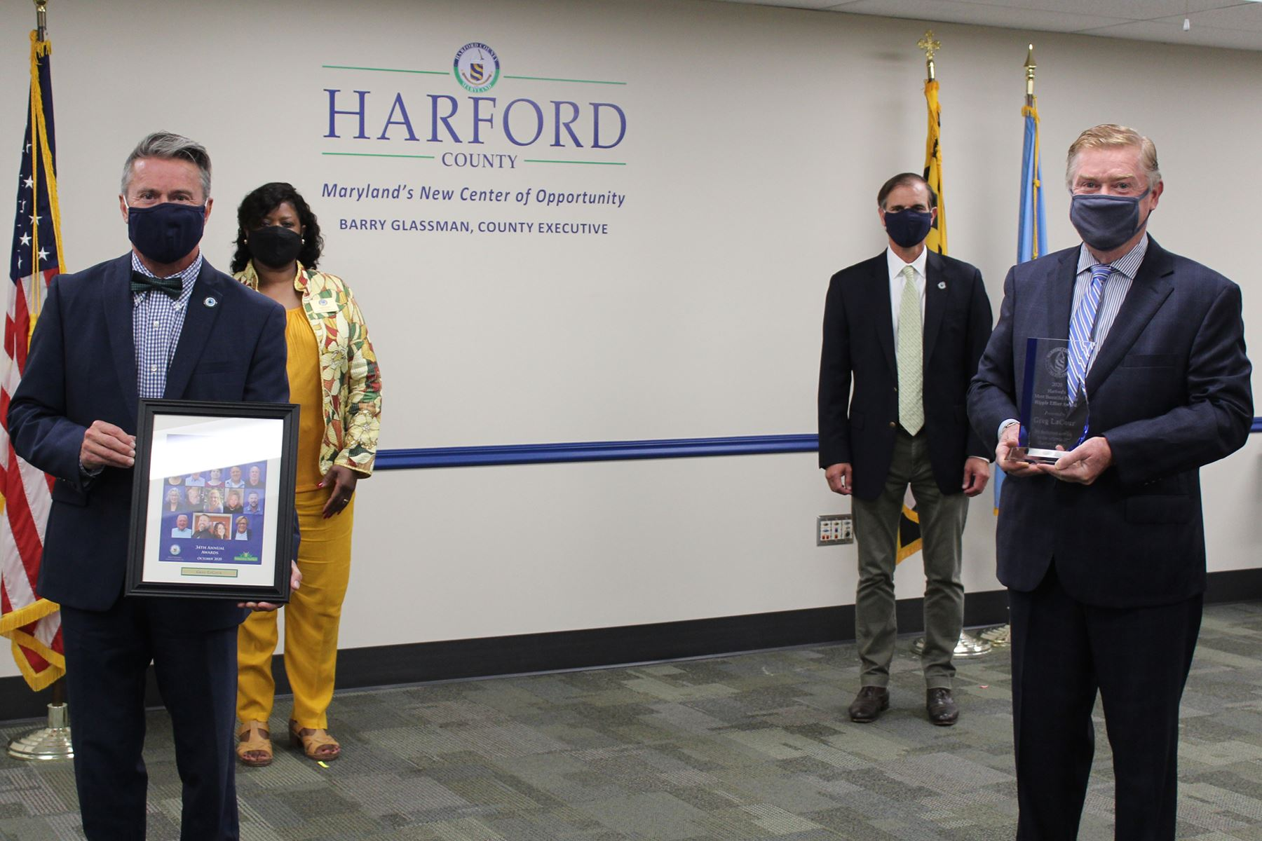 Greg LaCour, Presentation of Harford's Most Beautiful Ripple Effect Award