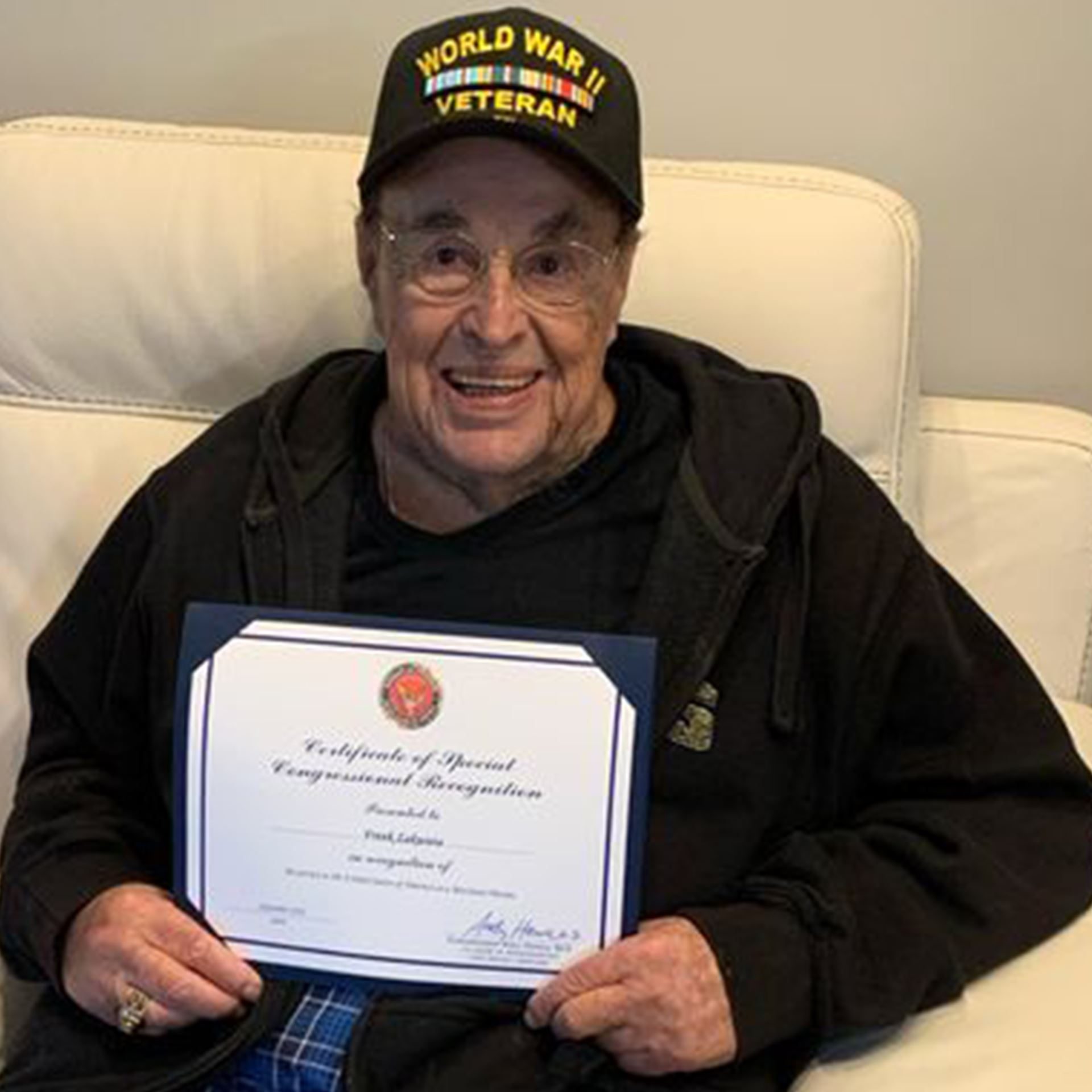 Frank Zakwieia, World War II Veteran