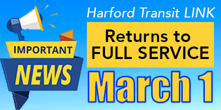 Return to Full Service March 1