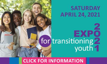 Transitioning Youth Expo 2021 Front Page Button Click Here