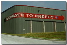 The Waste to Energy Plant in Harford County