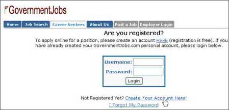 Are You Registered Screen