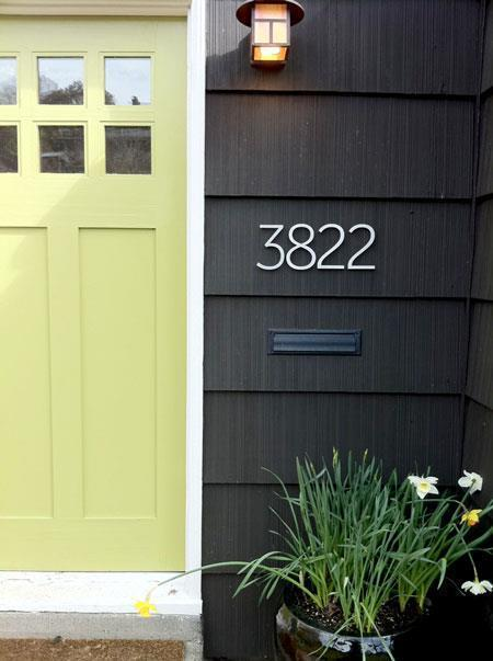 How To Clearly Display Address House Numbers Harford
