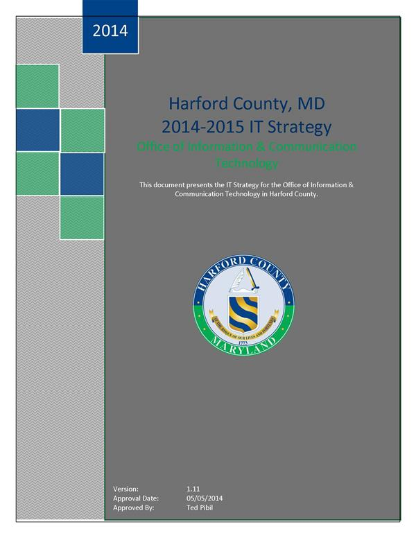 HCG OICT Strategic Plan 2014-2015