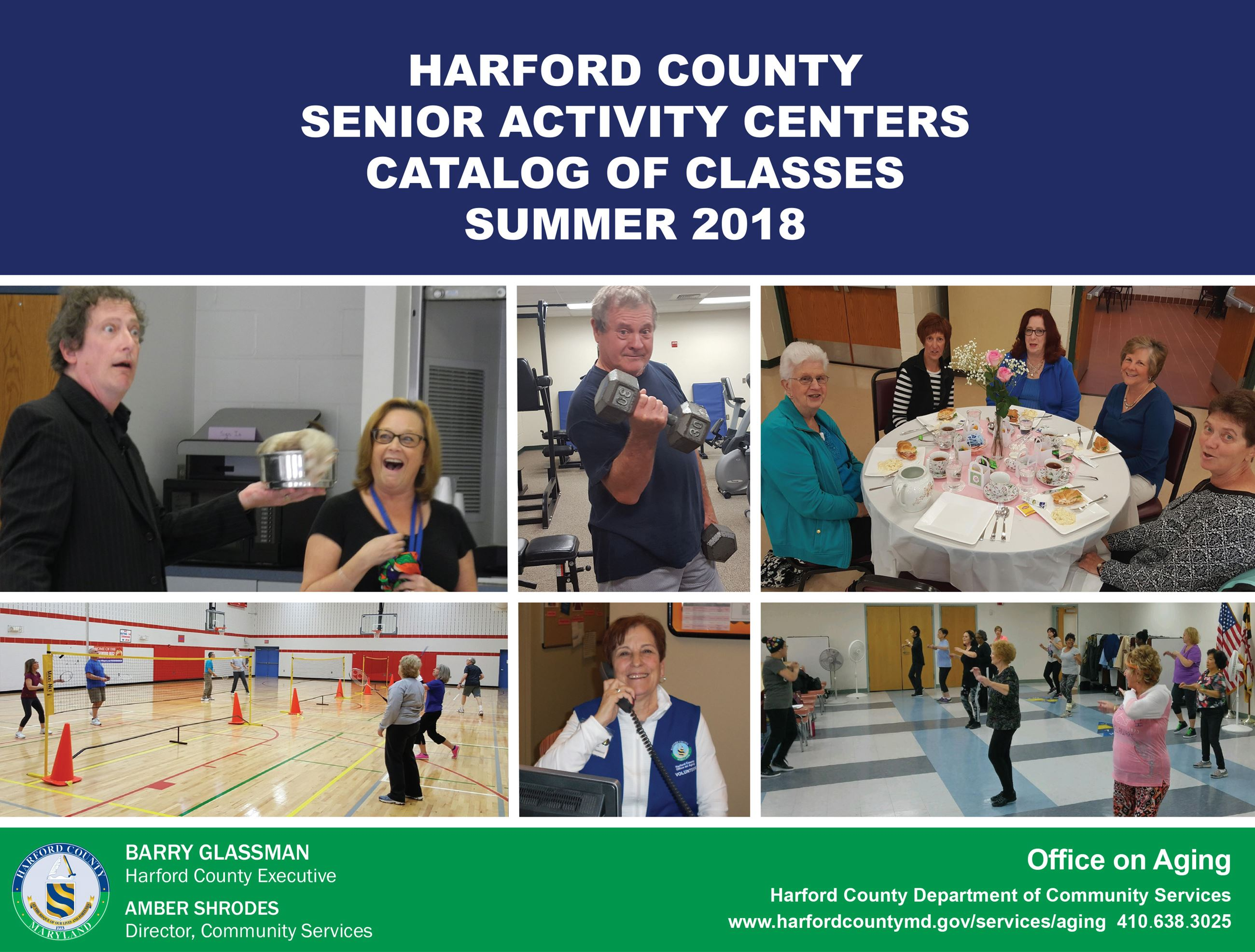 Senior Activity Center Catalog