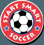 Start Smart Soccer White Logo