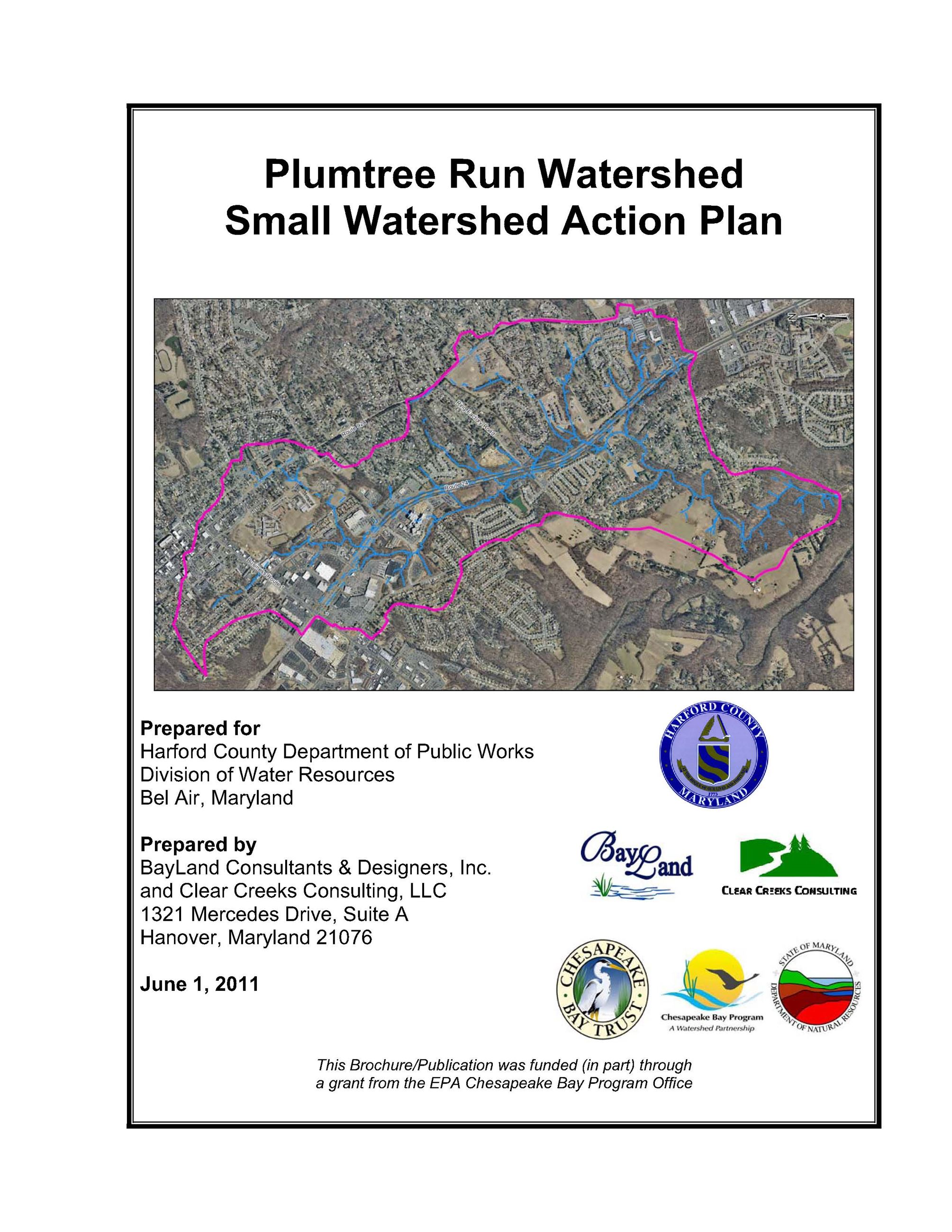 Plumtree Run SWAP coverpage