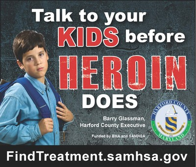 Talk to your kids before heroin does