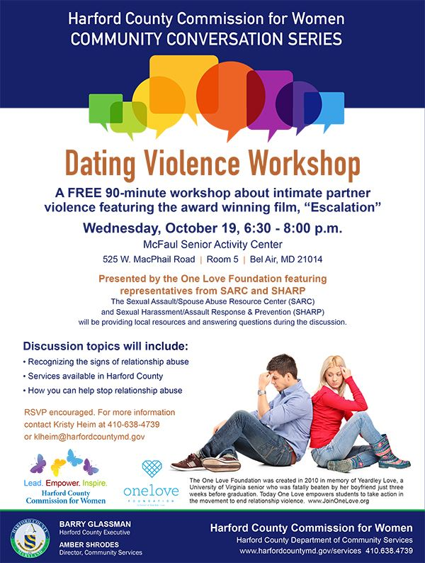 Dating Violence Workshop Icon