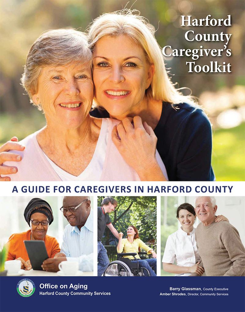 2016 Harford County Caregivers Cover