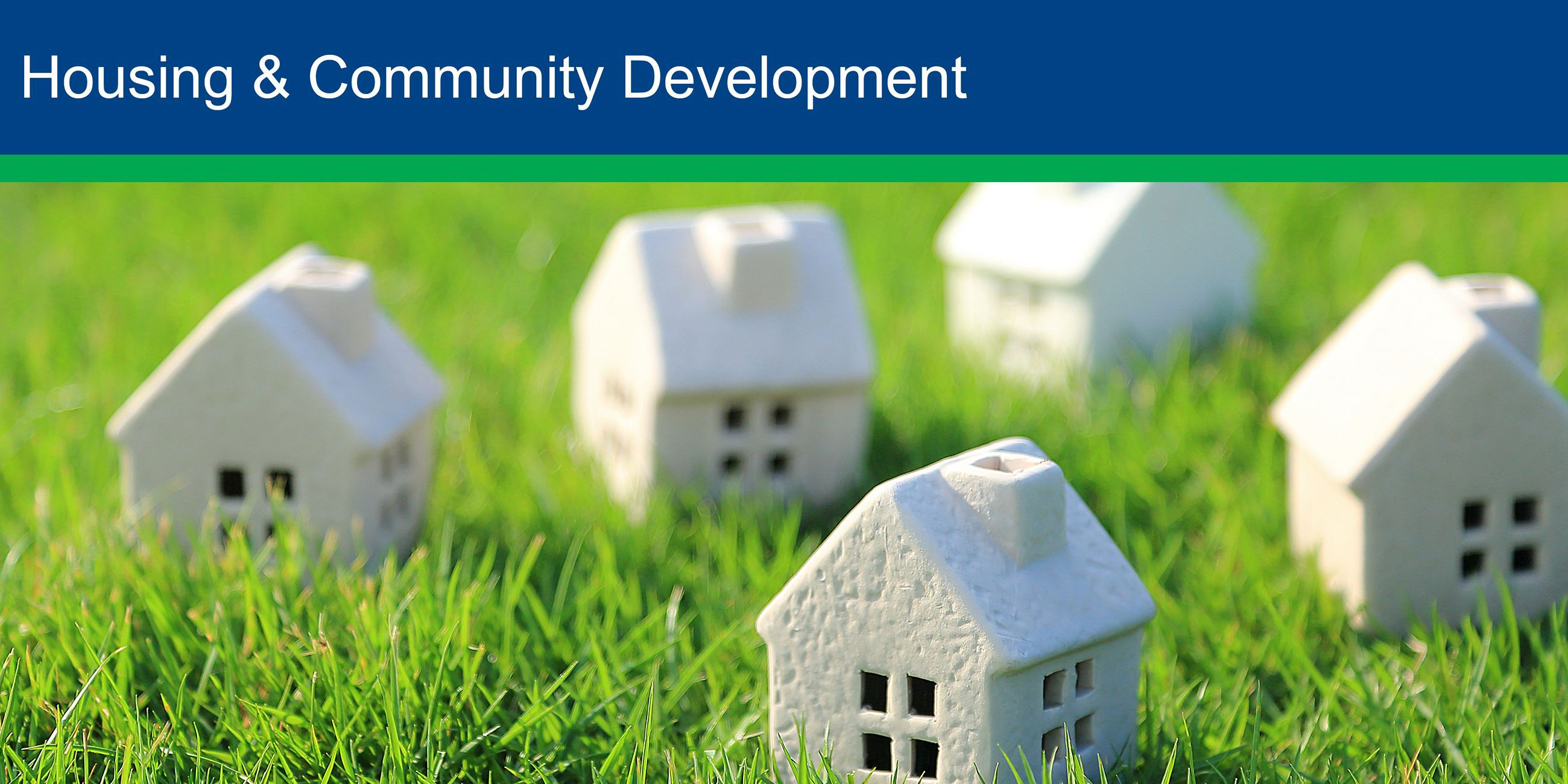 Housing and Community Development Banner