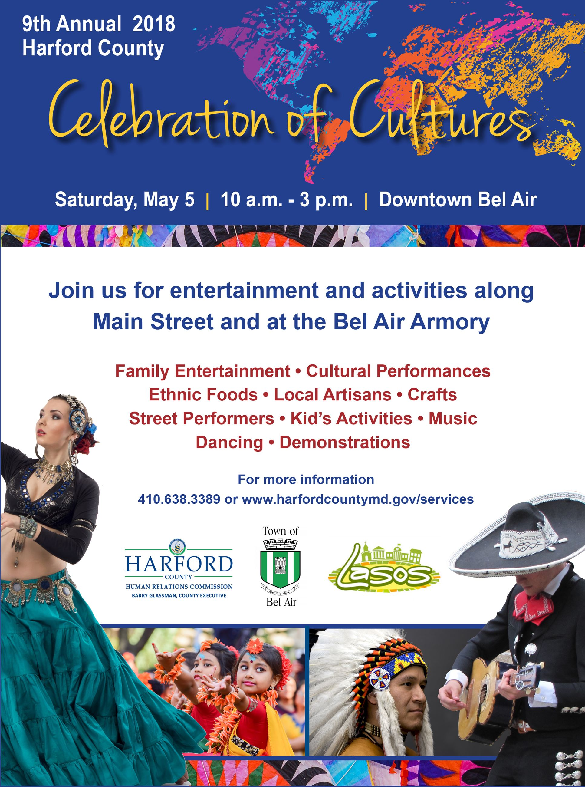 Celebration of Cultures Flyer Image