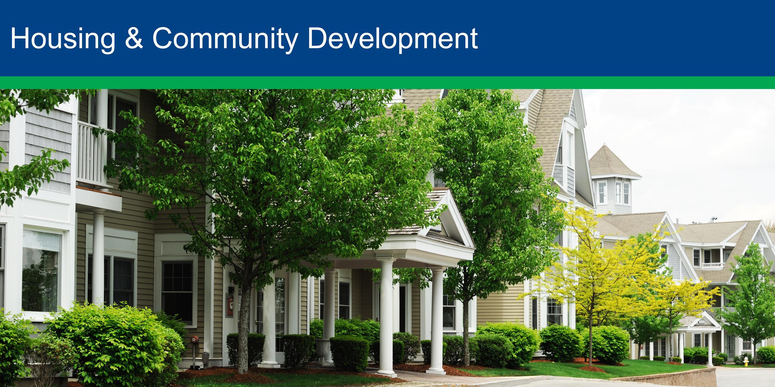 Housing and Community Development june 2017