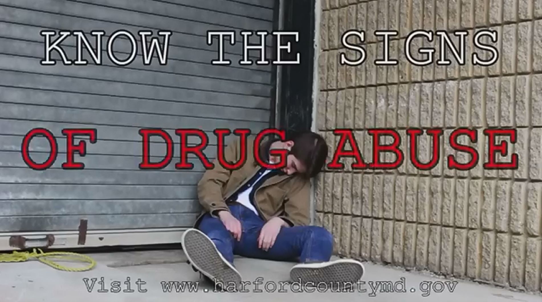 Know the Signs of Drug Abuse PSA Button