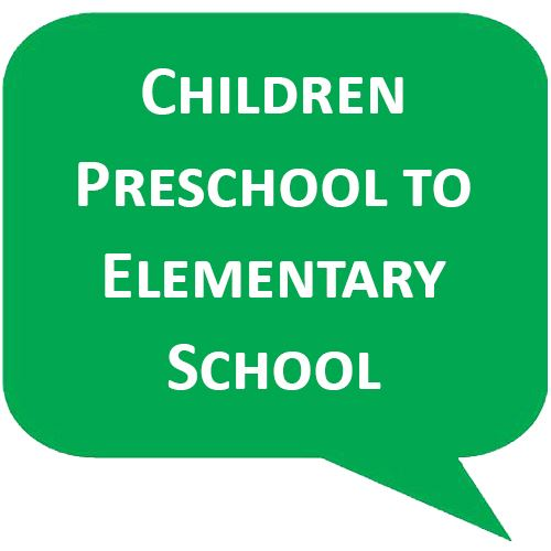 Callouts for Pre School and elementary